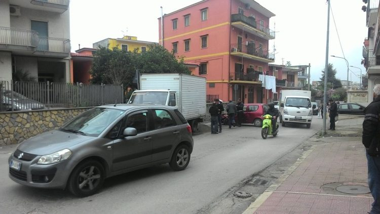 Sant'Antonio Abate. Incidente in via Stabia