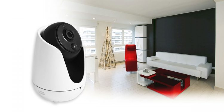 DSC-525W, la security cam da interno con video in alta definizione e audio