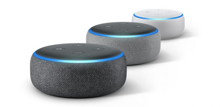 Echo Dot, l'altoparlante intelligente