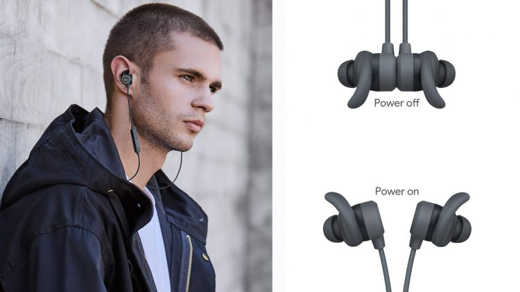 EP-B60, le cuffie in ear con on/off tramite magnete