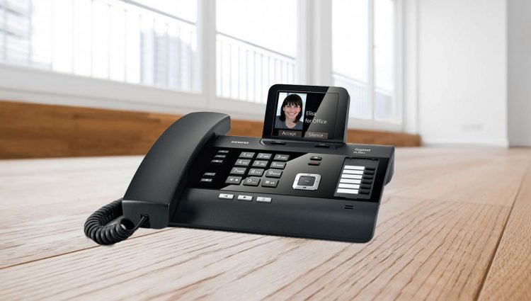 DL500A, un telefono fisso ideale per lo smart working