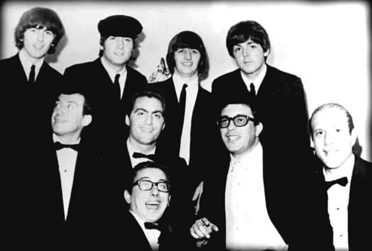 Peppino Di Capri 'quinto' Beatles nella turnè italiana del '65