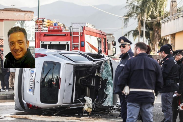 E' di Pimonte la vittima dell'incidente in via Fontanelle