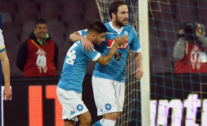 Higuain supera Insigne e vince…una speciale classifica!