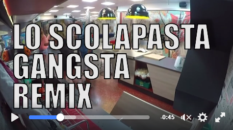 GF Vip, arriva il video dello scolapasta Gangsta Remix