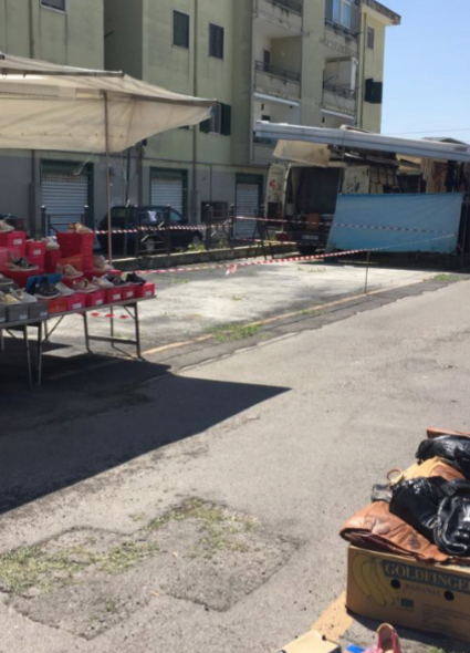 Pompei. Lavori abusivi all'interno del mercato: area sequestrata e caso in Procura