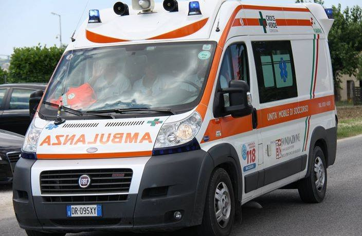 Fattorino perde la gamba in un incidente