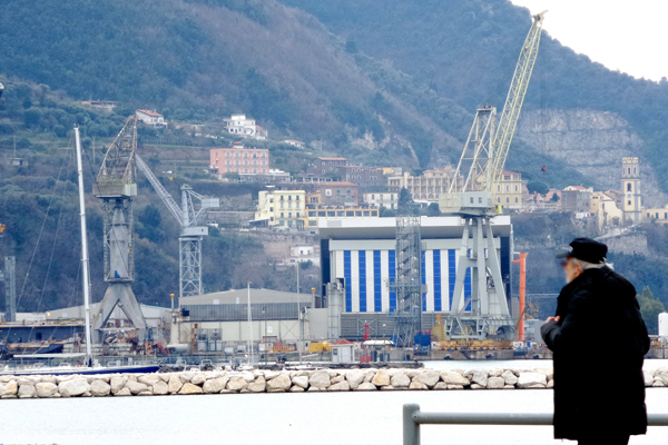 Fincantieri. Nuove commesse per lo stabilimento stabiese