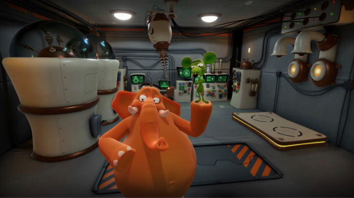"Innovazione digitale: arriva ""Giga & Stick"", la serie educational campana di virtual reality cartoon"