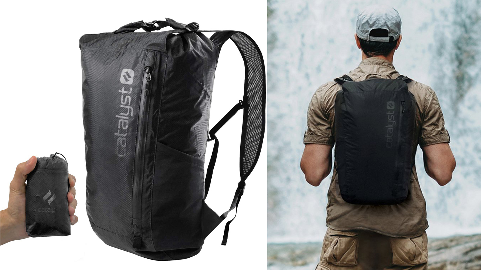20L Backpack, lo zaino pieghevole waterproof